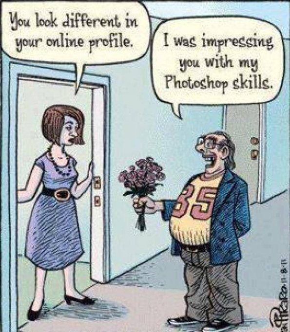 meeting someone from online dating site